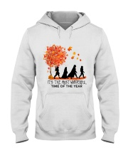 It's the most wonderful time of the year Hooded Sweatshirt front