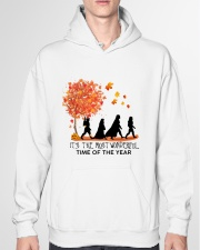 It's the most wonderful time of the year Hooded Sweatshirt garment-hooded-sweatshirt-front-04