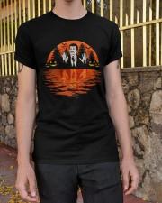 sunset science halloween Classic T-Shirt apparel-classic-tshirt-lifestyle-21
