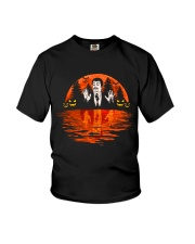 sunset science halloween Youth T-Shirt thumbnail