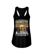 According to Chemistry Alcohol is solution Ladies Flowy Tank thumbnail