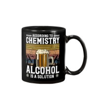 According to Chemistry Alcohol is solution Mug thumbnail