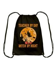 Teacher by day Drawstring Bag thumbnail