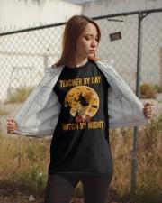 Teacher by day Classic T-Shirt apparel-classic-tshirt-lifestyle-07