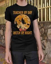 Teacher by day Classic T-Shirt apparel-classic-tshirt-lifestyle-21