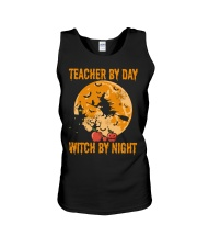 Teacher by day Unisex Tank thumbnail