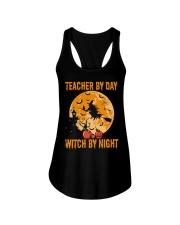 Teacher by day Ladies Flowy Tank thumbnail