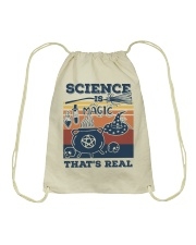 Science is Magic that's real Drawstring Bag thumbnail