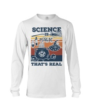 Science is Magic that's real Long Sleeve Tee front