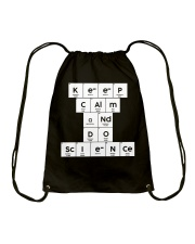 Keep calm and do science Drawstring Bag tile