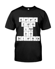 Keep calm and do science Classic T-Shirt thumbnail