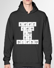 Keep calm and do science Hooded Sweatshirt garment-hooded-sweatshirt-front-04