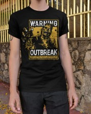 Zombie warning Classic T-Shirt apparel-classic-tshirt-lifestyle-21
