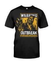 Zombie warning Classic T-Shirt front