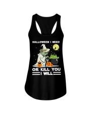 Halloween I need Ladies Flowy Tank thumbnail