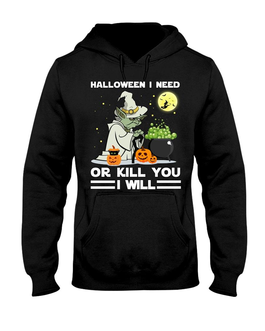 Halloween I need Hooded Sweatshirt