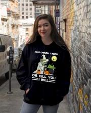 Halloween I need Hooded Sweatshirt lifestyle-unisex-hoodie-front-1