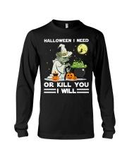 Halloween I need Long Sleeve Tee thumbnail