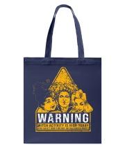 Hocus Pocus Warning Tote Bag thumbnail