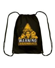 Hocus Pocus Warning Drawstring Bag thumbnail