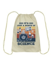It's Just A Bunch Of Science Drawstring Bag thumbnail