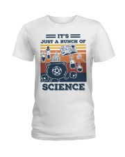 It's Just A Bunch Of Science Ladies T-Shirt thumbnail
