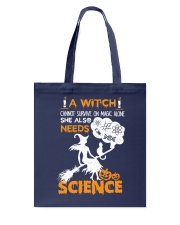 A witch cannot survive on magic alone Tote Bag thumbnail