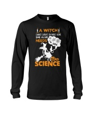 A witch cannot survive on magic alone Long Sleeve Tee thumbnail