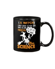 A witch cannot survive on magic alone Mug thumbnail
