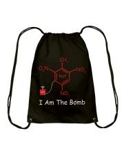 I am the bomb Drawstring Bag thumbnail
