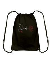 String theory Drawstring Bag thumbnail