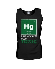 A hug without U is just toxic Unisex Tank thumbnail