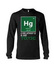 A hug without U is just toxic Long Sleeve Tee thumbnail