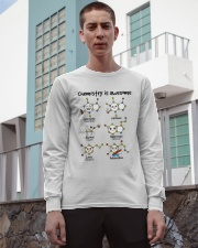 Chemistry is awesome Long Sleeve Tee apparel-long-sleeve-tee-lifestyle-03