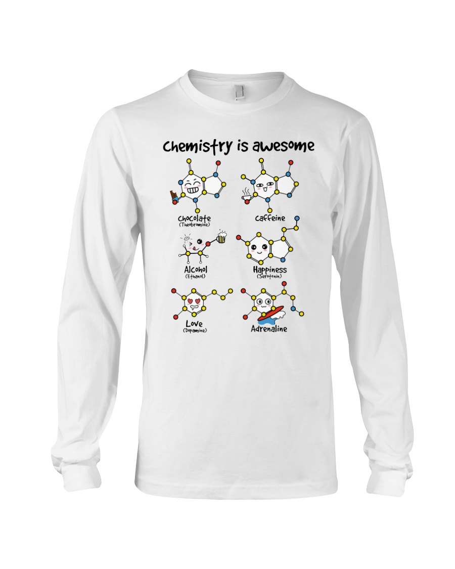 Chemistry is awesome Long Sleeve Tee