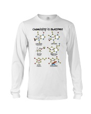 Chemistry is awesome Long Sleeve Tee front
