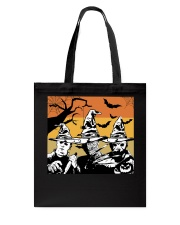 Halloween witch - horror Tote Bag thumbnail