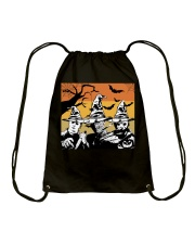 Halloween witch - horror Drawstring Bag thumbnail