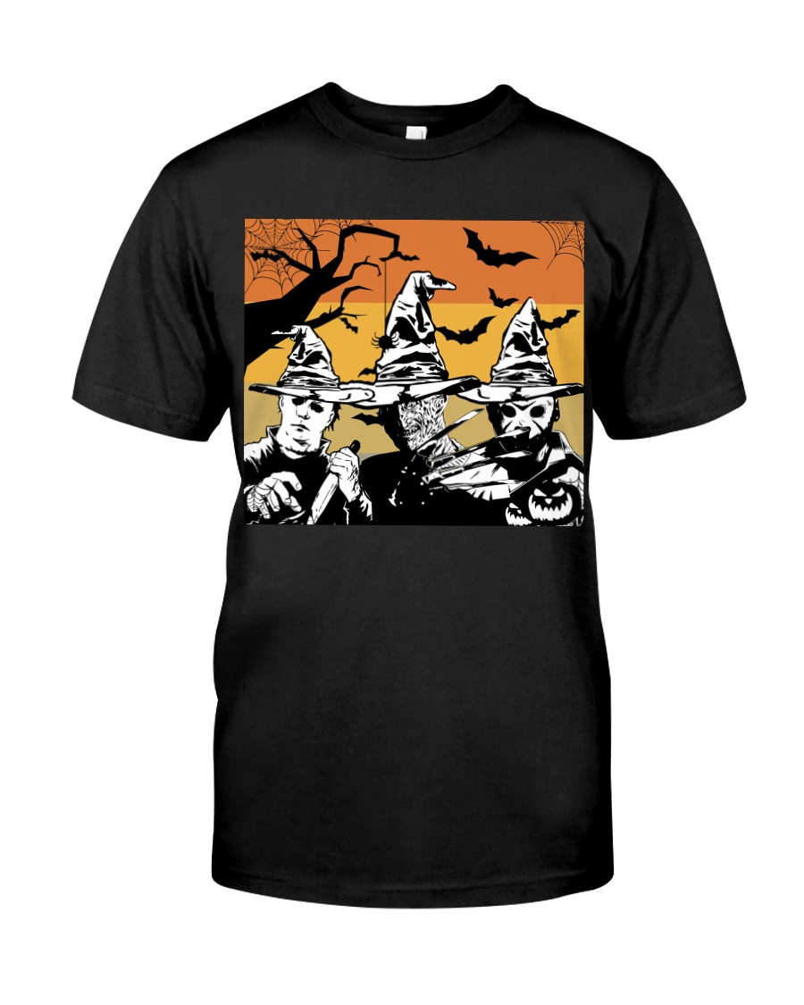 Halloween witch - horror Classic T-Shirt