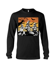 Halloween witch - horror Long Sleeve Tee thumbnail