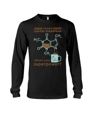 I make coffee disappear Long Sleeve Tee thumbnail