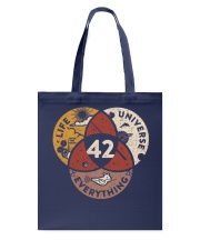 The Answer To Life Universe Everything Tote Bag thumbnail