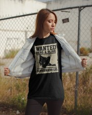 Wanted dead or alive Classic T-Shirt apparel-classic-tshirt-lifestyle-07