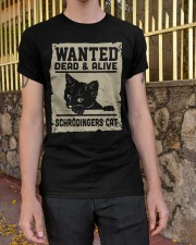 Wanted dead or alive Classic T-Shirt apparel-classic-tshirt-lifestyle-21