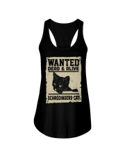 Wanted dead or alive Ladies Flowy Tank thumbnail