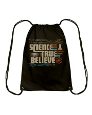 The good thing about science Drawstring Bag thumbnail