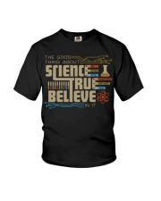 The good thing about science Youth T-Shirt thumbnail