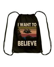 I want to believe Drawstring Bag thumbnail
