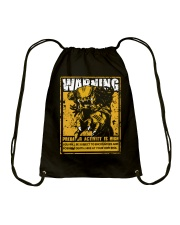 The Predator Warning Drawstring Bag thumbnail