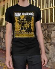 The Predator Warning Classic T-Shirt apparel-classic-tshirt-lifestyle-21